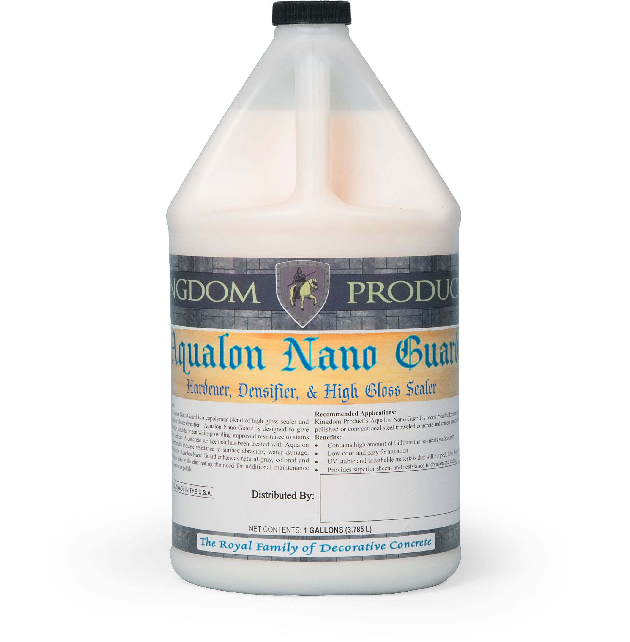 Aqualon Nano Guard-Hardener, Densifier & High Gloss Concrete