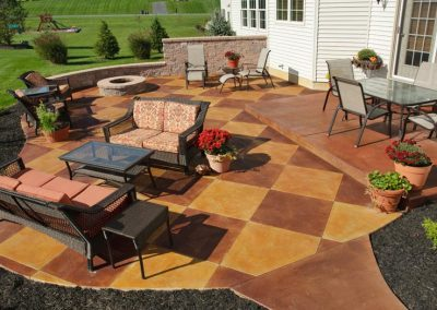 Outside Patio Project